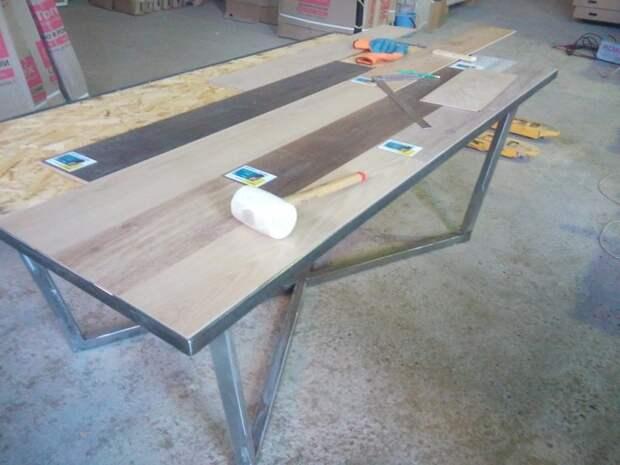 Уже почти ... дизайн, рукожопство, своими руками, сделай сам, стол
