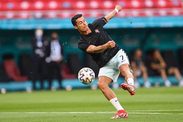 Криштиану Роналду установил рекорд чемпионатов Европы