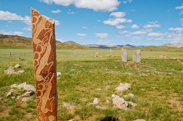 Оленные камни - монгольская достопримечательность