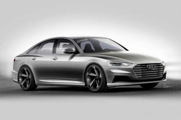 Драма в пятой части: новый Audi A6 зарядят эмоциями