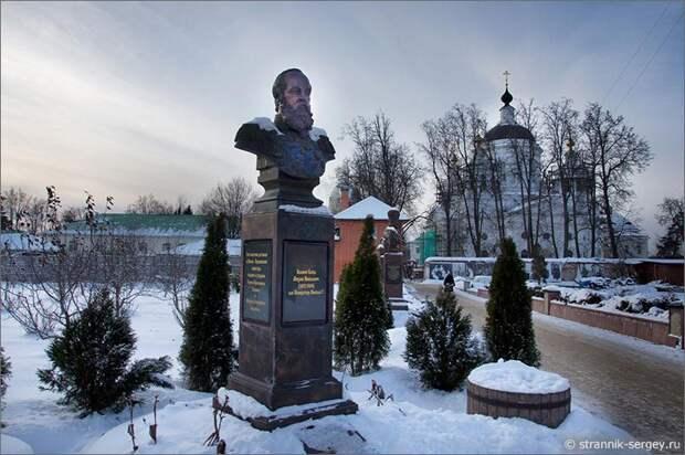 Николо-Берлюковская пустынь памятник Михаилу Романову