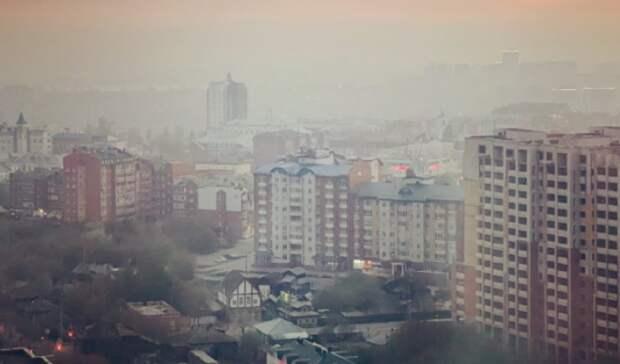 В Тюмени густой смог продержится до 12 мая