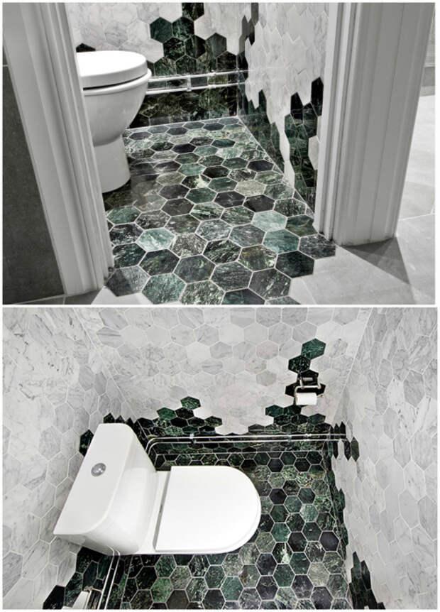 15 нетривиальных идей для дизайна туалета без скучной плитки и пластика