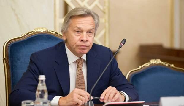 Пушков рассказал, почему важна реакция России на провокации Байдена