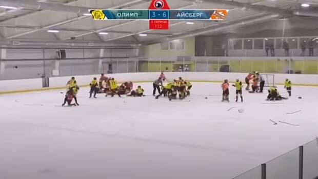 Такой хоккей нам не нужен: массовая драка произошла на детском турнире в Саратове
