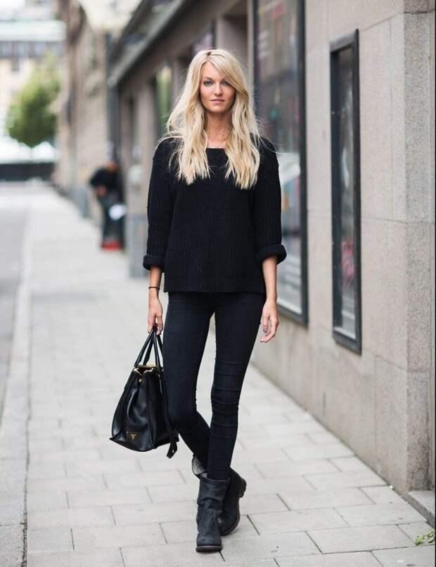 Как правильно носить черный, чтобы он не старил, а добавлял шарм и стиль