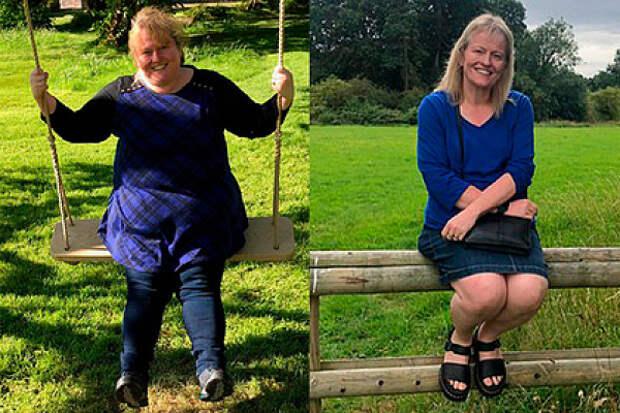 47-летняя женщина назвала способ загодпохудеть на82килограмма