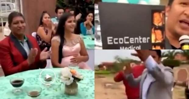 Муж уличил беременную жену в неверности, прилюдно испортив ей праздник в честь будущего ребенка