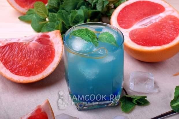 Спиртные напитки. Коктейль «Голубая канарейка»