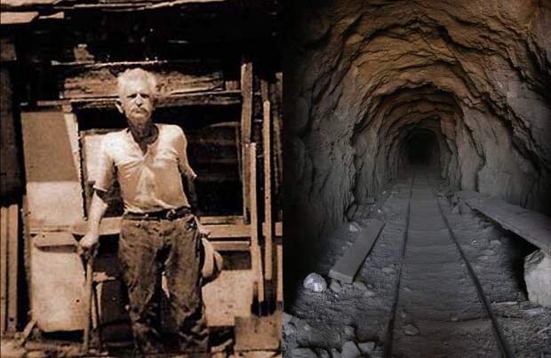 Человек-крот: мужчина провёл 32 года, копая пустыню крот, тунель, чудак