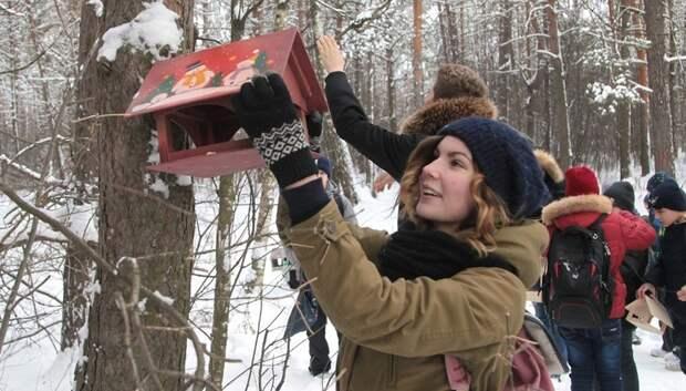 Почти 20 тысяч жителей Подмосковья приняли участие в акции «Покорми птиц»