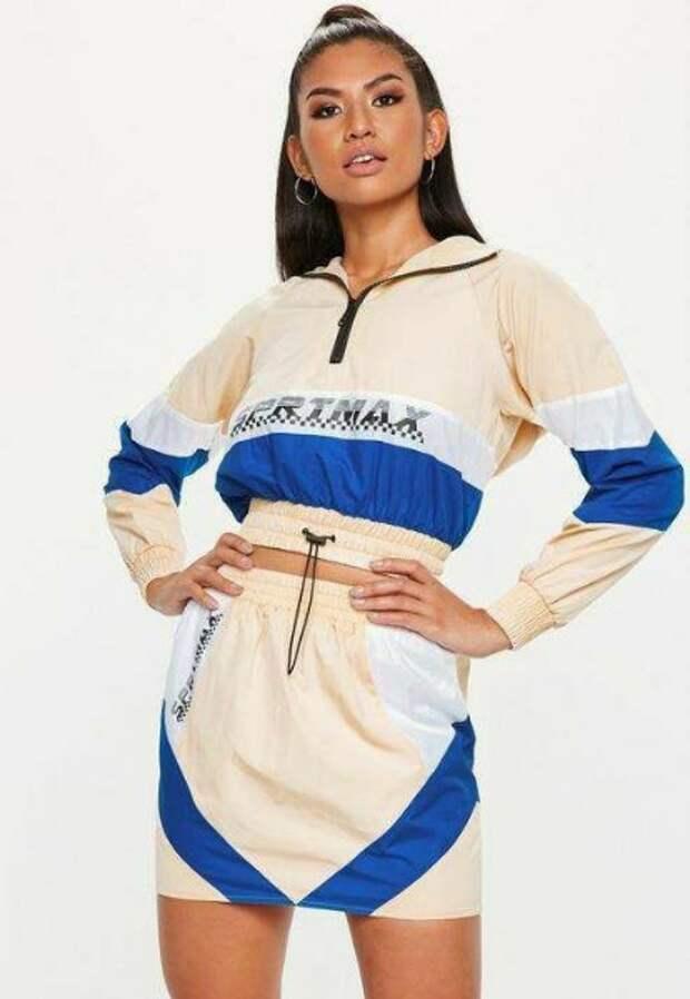 спортивный костюм с юбкой