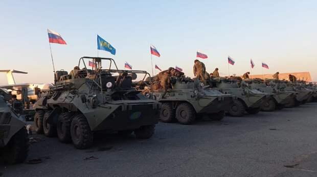 Российские миротворцы в Нагорном Карабахе получили награды в День Победы