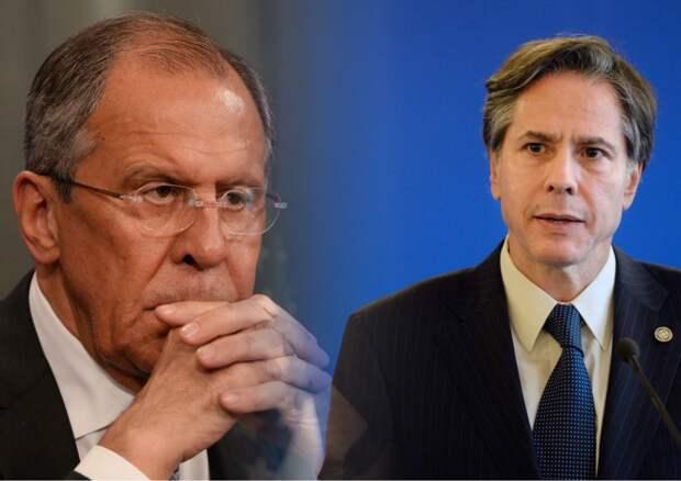 Лавров провел переговоры с Блинкеном