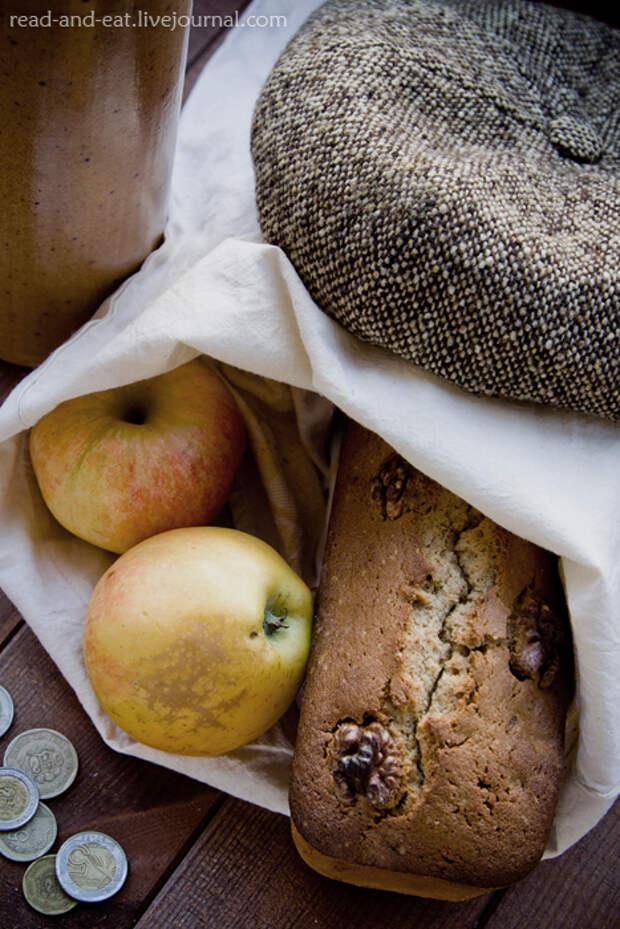 Овсяно-рисовый кекс в дорогу (Артур Конан Дойл. «Этюд в багровых тонах»)