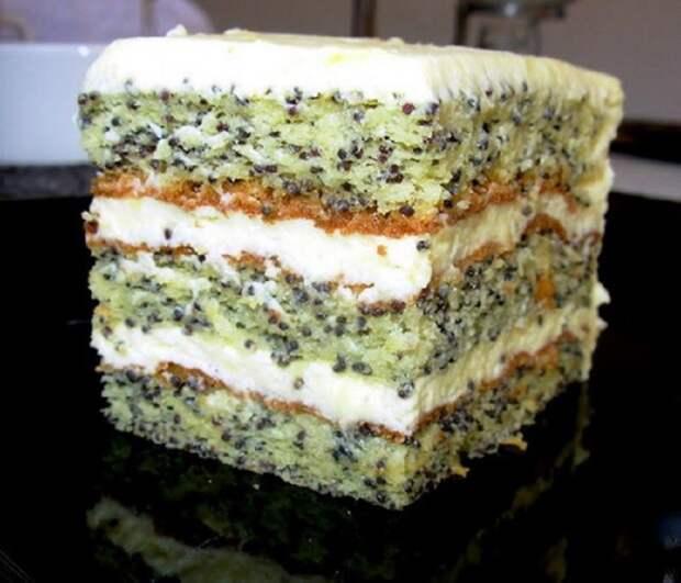 еврейский торт с маком