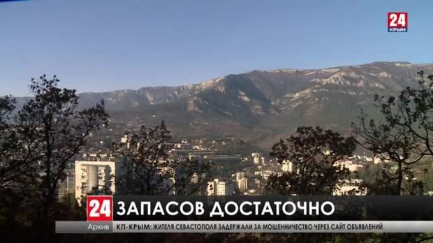 Ситуация с водоснабжением в дефицитных городах Крыма стабилизировалась