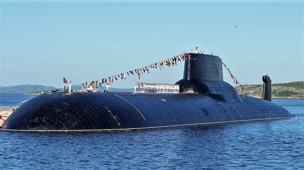 """В США советская подлодка типа """"Акула"""" заслужила звание самого страшного оружия"""