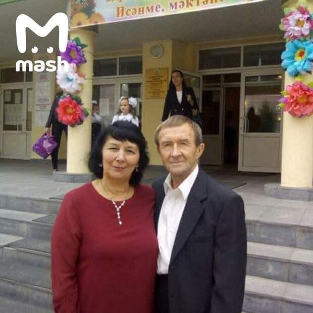 Это Мулланур Мостафин – преподаватель математики, муж классной руководительницы...