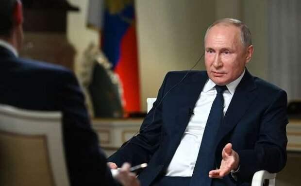 Путин назвал НАТО «рудиментом холодной войны»
