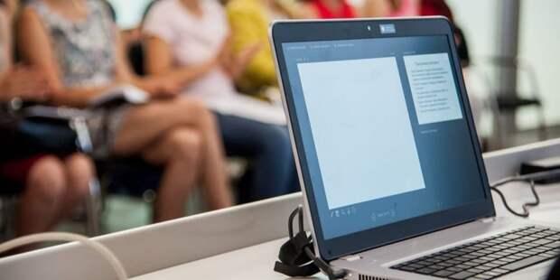 Сергунина: В Москве запустили онлайн-проект для планирующих работать по франшизе.Фото: Ю. Иванко mos.ru