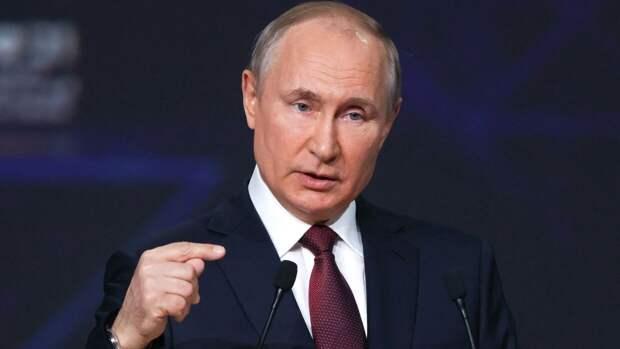 Британцев восхитили слова Путина о двойных стандартах США