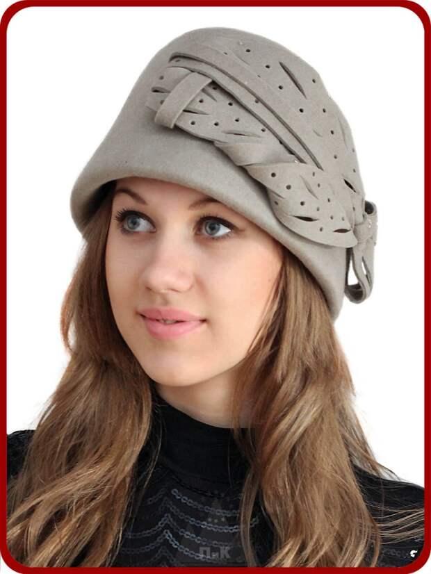 Шляпа в форме капора