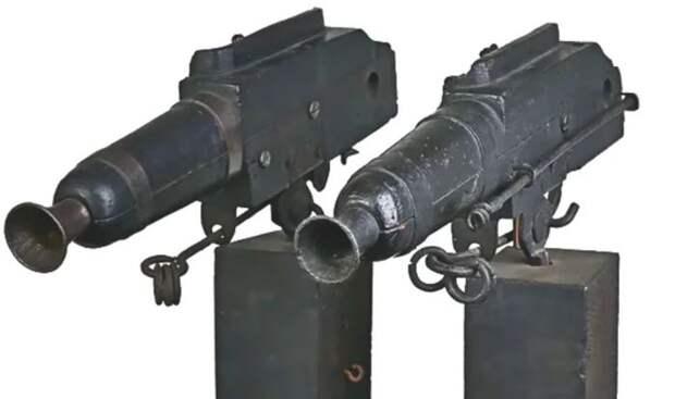 Очень странное оружие. |Фото: ya.ru.