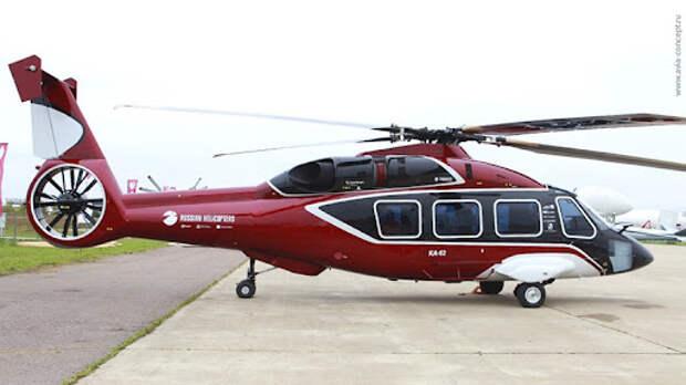 «Вертолеты России» заключили контракты на поставку Ка-62 и Ка-32