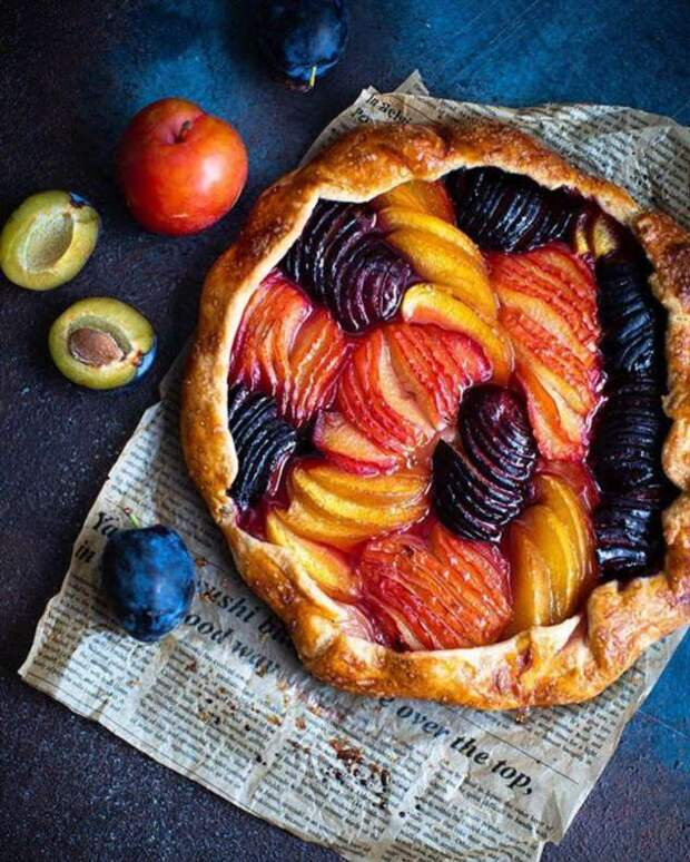 Наслаждаемся дарами осени: печем деревенскую фруктовую галету