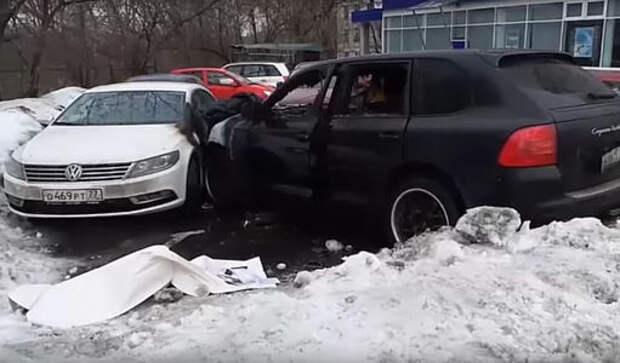 Против стритрейсера на Porsche Cayenne, сбившего пешехода, возбуждено уголовное дело