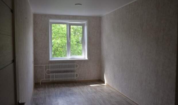 Выгоревшую квартиру пожилой белгородки отремонтировали при поддержке мэрии
