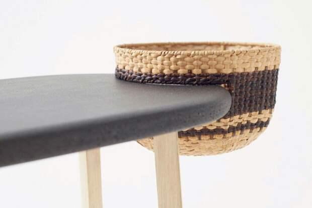 Мебель с корзинами