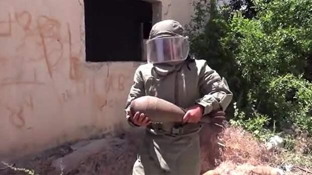 Военные Сирии и РФ уничтожили катакомбы террористов в провинции Хама