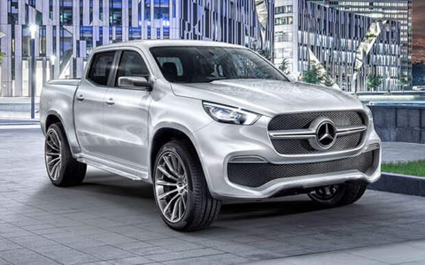 Оператив ЗР: Mercedes-Benz X-класса – даешь паркетный пикап!