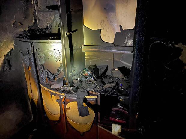 В Севастополе сгорела квартира. Есть пострадавшие