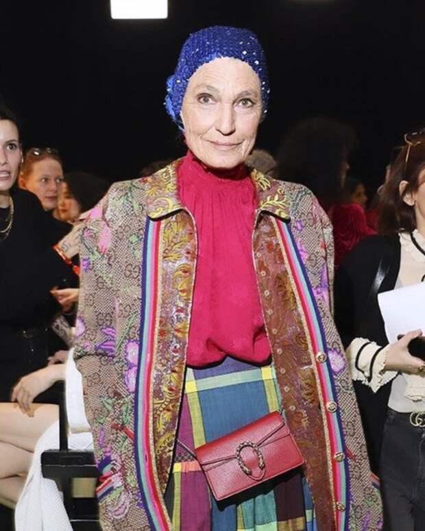 Возраст стилю не помеха: как одеваются самые модные пожилые леди мира
