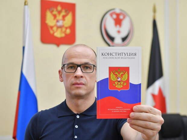 Глава Удмуртии ответит на вопросы о голосовании по поправкам к Конституции России