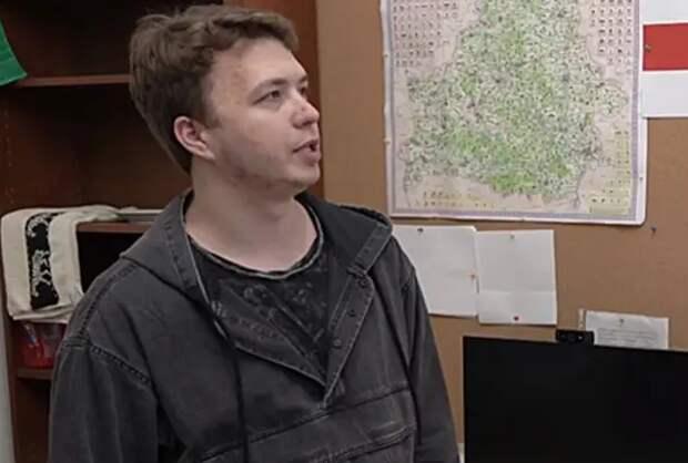 Протасевич признал вину в призывах к протестам в Белоруссии