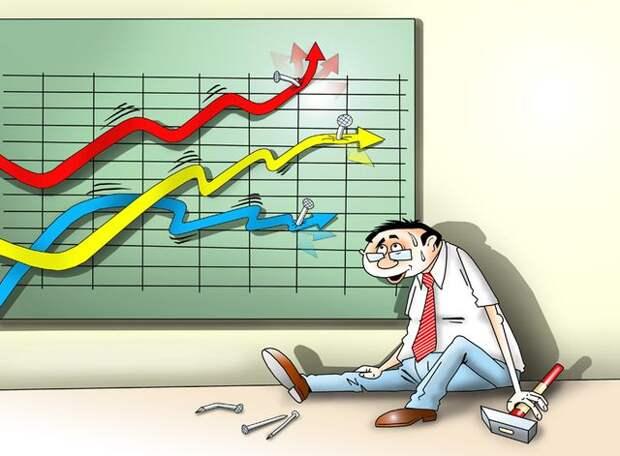 Фондовые рынки в США окончательно оторвались от реальности