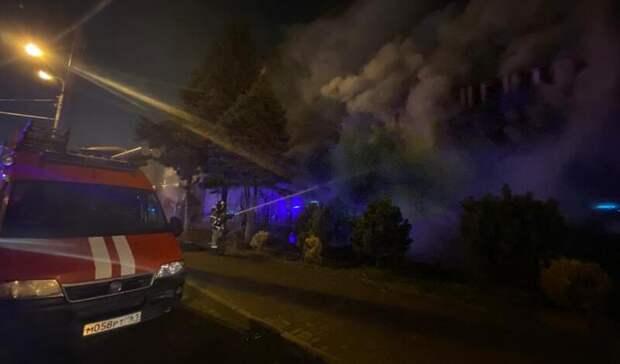 В Ростове-на-Дону ликвидировали пожар в магазине