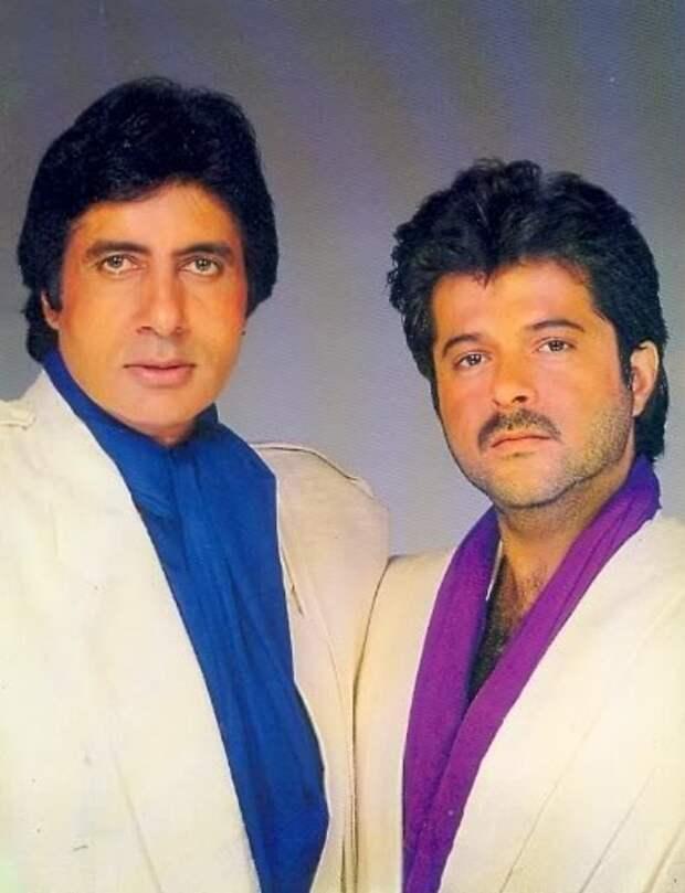 Амитабх Баччан и Анил Капур. Фото /  Amitabh Bachchan, Anil Kapoor. Photo
