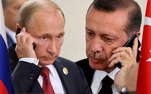Путин и Эрдоган по телефону обсудили ситуацию в Иерусалиме