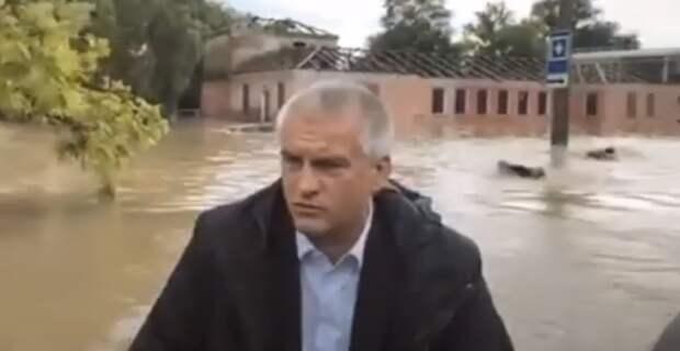 Это не спасатели: в МЧС дали разъяснения по поводу видео с главой Крыма и пловцами