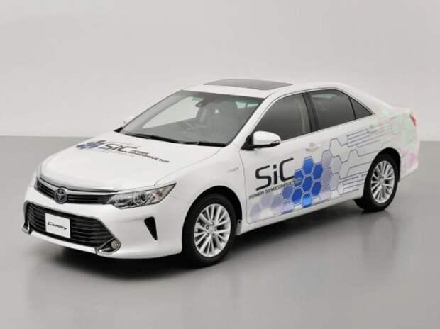 Toyota будет испытывать революционные полупроводники на Camry