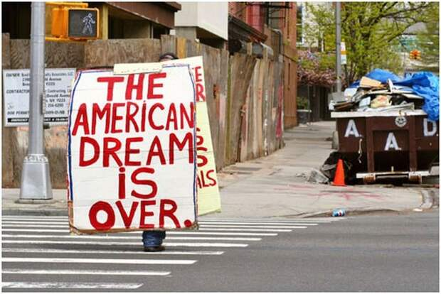 В неправильном пути США уверены 66% американцев