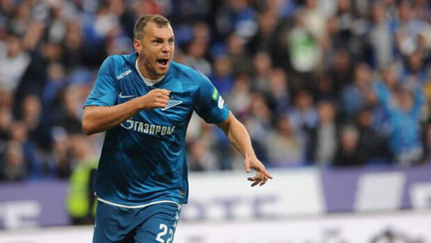 Дзюба вошел втройку лучших игроков «Зенита» посистеме «гол+пас»