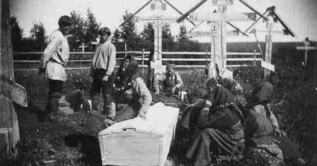 Погребение «по-репному», или Почему на Руси не было принято хоронить убитых сразу