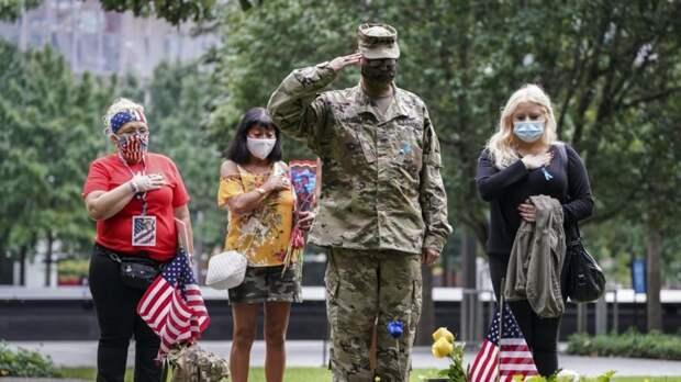 В США вспоминают жертв террористической атаки 11 сентября 2001 года