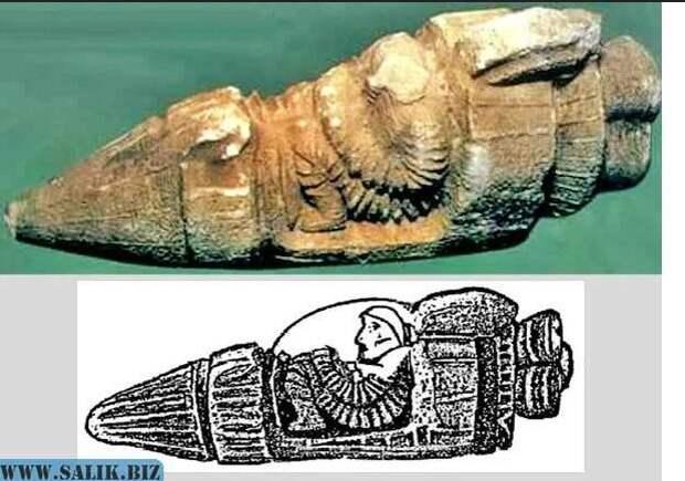 Корабль древних использовал ртуть